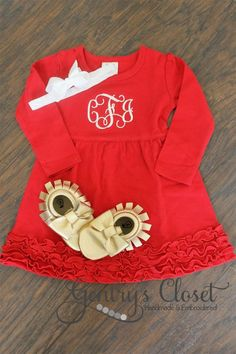 Dress with Monogram