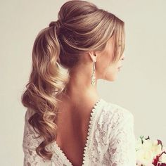 20 ravishing mother of the bride hairstyles. Most elegant mother of the bride hairstyles. Beautiful mother of the bride hairstyles. Wedding Hairstyles For Long Hair, Wedding Hair And Makeup, Pretty Hairstyles, Bridal Hair, Hair Makeup, Hairstyles 2016, Bridesmaid Hairstyles, Hair Wedding, Prom Ponytail Hairstyles