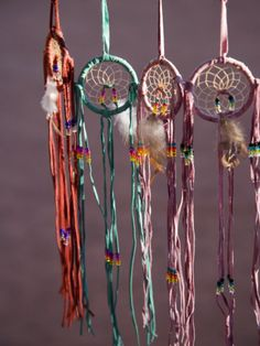 Dream Catchers <3 I have a large one hanging on my front door <3