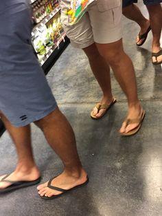Whole Dudes in Flip Flops…Handsome 🔥👣🔥👣🔥👣 Mens Flip Flops, Leather Flip Flops, Barefoot Men, Male Feet, Sperry Shoes, Sexy Feet, Old Town, Flip Flop Sandals, Sliders