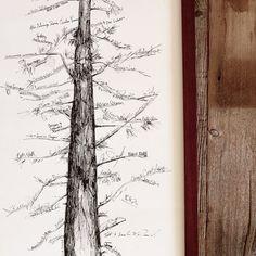 Guest Book Alternative arbre de Signature livre dor unique
