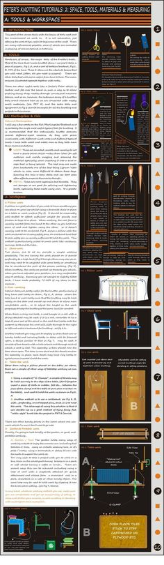 PKT 3 TOOLS AND WORKSPACE by Peter-The-Knotter