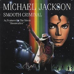 """For Sale - Michael Jackson Smooth Criminal - Moonwalker Sleeve Netherlands  7"""" vinyl single (7 inch record) - See this and 250,000 other rare & vintage vinyl records, singles, LPs & CDs at http://eil.com"""