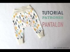 DIY Tutorial y patrones legins (modelo - Oh, Mother Mine DIY! Baby Sewing Projects, Sewing Patterns For Kids, Sewing Baby Clothes, Diy Clothes, Diy Fashion Hacks, Clothing Hacks, Baby Wearing, Diy For Kids, Baby Dress