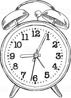 stock-illustration-42636478-vector-hand-drawn-sketch-alarm-clock.jpg (744×1024)