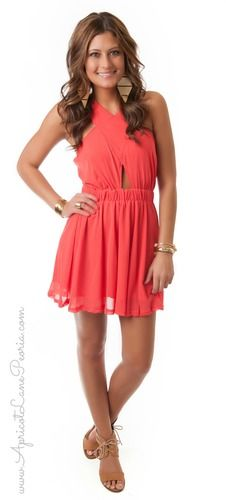 Cross Front Day Dress, $44.00