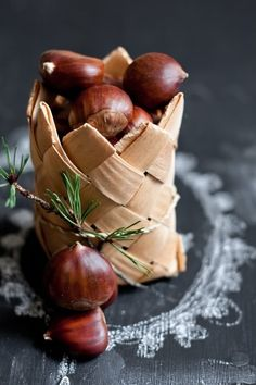 sweet chestnuts @}-,-;--