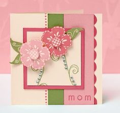 Mother's Day DIY card idea. #CTMH #Cards #DIY