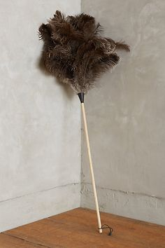 Ostrich Feather Duster #anthropologie
