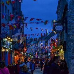 Visit Galway (@visitgalway) • Instagram photos and videos Art Festival, Summer Nights, Beats, Times Square, Warm, Canning, Photo And Video, Street, City