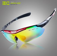 32dbb10ee0f BaseCamp Cycling Eyewear Outdoor Sports Windproof Bicycle Glasses UV400 Polarized  Bike Riding Cycling Sunglasses With 5