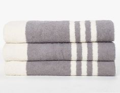James Perse Beach Towel Striped | Remodelista