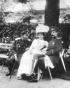 Olga and Grand Duke Paul at the height of their romance.