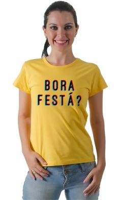 Dica #palcofashion #Camiseta - Bora festá? #moda #fashion