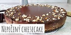 Nepečený cheesecake Tiramisu, Cheesecake, Cakes, Ethnic Recipes, Desserts, Food, Tailgate Desserts, Deserts, Cheese Cakes
