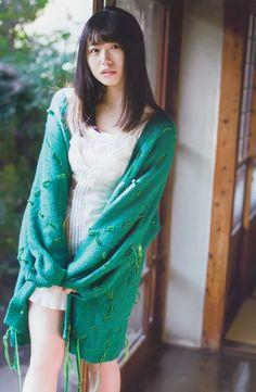 長濱ねる World's Cutest Girl, Girl G, Japan Girl, Kawaii Girl, Asian Woman, Asian Beauty, Cute Girls, Fashion Models, Kimono Top
