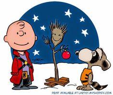 Charlie Brown Christmas - Groot!