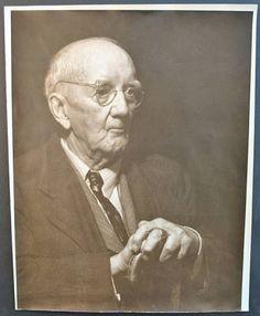 A portrait of an older Dr. Henry Liberty Bates.