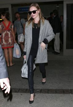 Kate Bosworth Photo - Kate Bosworth Arriving On A Flight At LAX