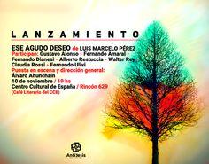 Antítesis Editorial: :: LANZAMIENTO :: ESE AGUDO DESEO, de Luis Marcelo...