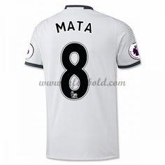 Billige Fodboldtrøjer Manchester United 2016-17 Mata 8 Kortærmet Tredjetrøje