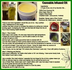How to Infuse Oils with Cannabis or any herb