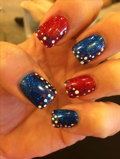 My new Memorial Day nails :-)