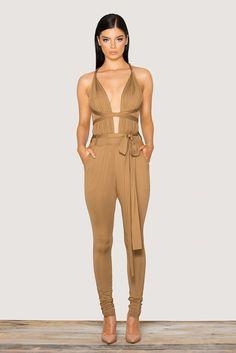 eb6eb810646 Fashion Sensual Rompers Deep V Neck Clothing Deals