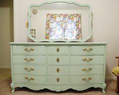 Refinished Dresser by emmmylizzzy, via Flickr