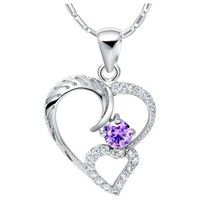I think you'll like 18k White Gold Plated Pendant Necklace. Art. SCN-675. Add it to your wishlist! http://www.wish.com/c/52fe433634067e2761845d90