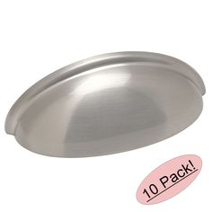 *10 Pack* Cosmas Cabinet Hardware Brushed Satin Nickel Cup Pulls - #783SN #Cosmas #CabinetHandlesPulls
