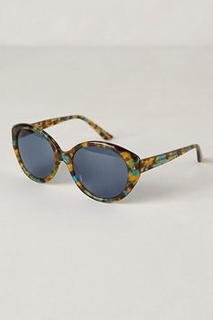 Blue Tortoise Sunglasses #anthropologie got to have these for this summer