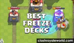 best freeze spell battle deck