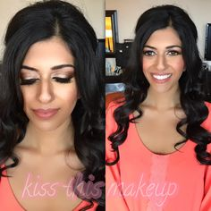 #kissthismakeup #makeupartist #airbrush #eyeshadow #brides #updo #makeup #photooftheday #weddings #hair #igers #igdaily #picoftheday #beautiful #miami #boca #fortlauderdale #hairstylist