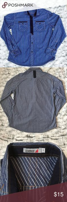 Fashion Men's Long Sleeve Shirt by MAX's This shirt is very gently used with no flaws. Please see photos for exact details.   **** This is Final sale No Return/ No Refund/ No exchange ***** MAX's Shirts Casual Button Down Shirts