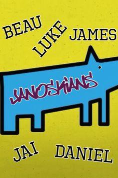 Janoskians- Jai Brooks, Luke Brooks, Beau Brooks, Daniel Sayouni, James Yammonni