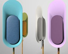 OLi is a stand-type Bluetooth speaker that allows music to fill up your surrounding. OLi is to be stood in different areas of the house instead of filling up spaces on tables or shelves. Id Design, Design Studio, Design Trends, Module Design, Color Plan, Speaker Design, Bluetooth Speakers, Portable Speakers, Vintage Design