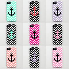 Summer Anchor iPhone cases by RexLambo ($35)