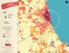 Here Are Millennials Favorite Neighborhoods In 6 Big Us Cities Maps