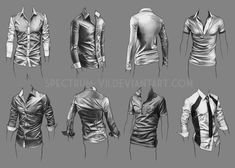 Drawing clothes male deviantart ideas for 2019 Shirt Drawing, Body Drawing, Figure Drawing, Fabric Drawing, Drawing Techniques, Drawing Tips, Drawing Reference, Drawing Studies, Art Studies