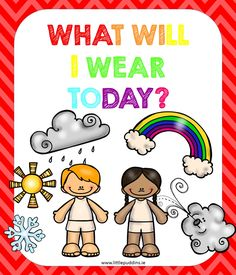 Free Autism Printable  Clothing and the Weather