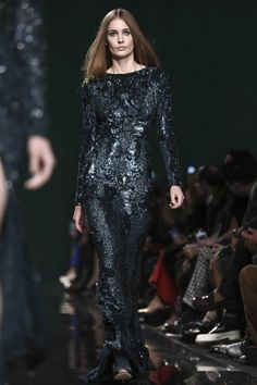 Elie Saab Ready To Wear Fall Winter 2014 Paris - NOWFASHION #PFW