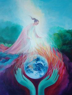 Weaving Energies of Love by Mary Southard