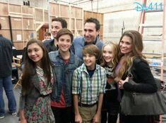 Rowan Blanchard, Ben Savage, Teo Halm, Corey Foglemanis, Sabrina Carpenter, Danielle Fishel--Girl Meets World Cast; March 2013
