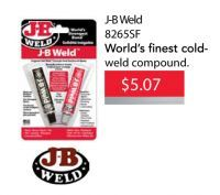 J-B Weld  is on sale for only $5.07 EA until May 31, 2016.  #JBWeld #epoxy #aadiscount #hamiltonparts #aadiscountauto #hamiltonautoparts #autopartssale #aadiscountautoparts