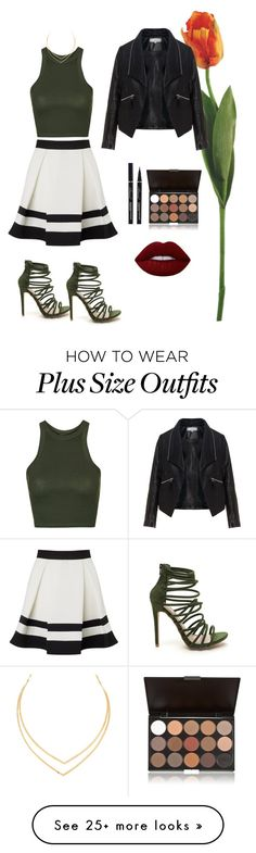 """""""Untitled #705"""" by fairyprincess12 on Polyvore featuring Topshop, Lipsy, Zizzi, Lana and Lime Crime"""