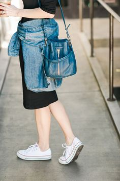 casual laid back outfit inspiration with sneakers M Loves M