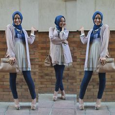 for such a simple hijab style, i never can pull this off
