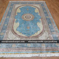 oriental silk carpet Size:6x9ft-183x274cm coco@camelcarpet.com whatsapp:008613213228709