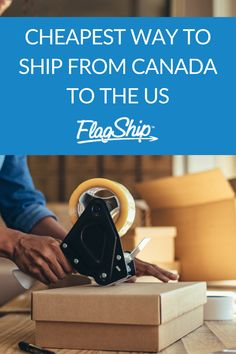 If you are looking for the cheapest way to ship from Canada to the U.S., at a discounted rate, without compromising on service and quality, you are at the right place! #export #shipping #shipfromcanada Canada, Ship, Ships
